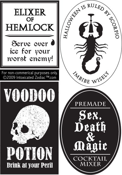 Best 25+ Printable halloween labels ideas on Pinterest Halloween - free wine bottle label templates