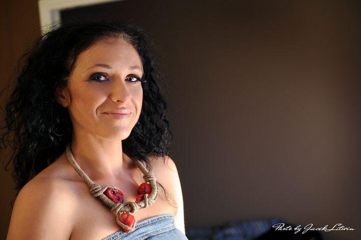 FRIDA - Modelka: Marzena Łastowska Make up: Katarzyna Rostkowska Fot. Jacek Litwin