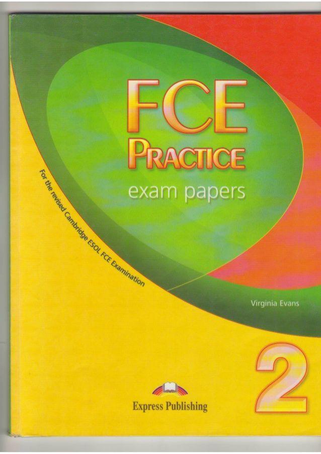 Fce practice exam paper 2