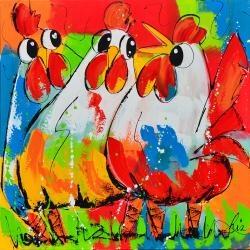 Liz - veel kleuren kippen