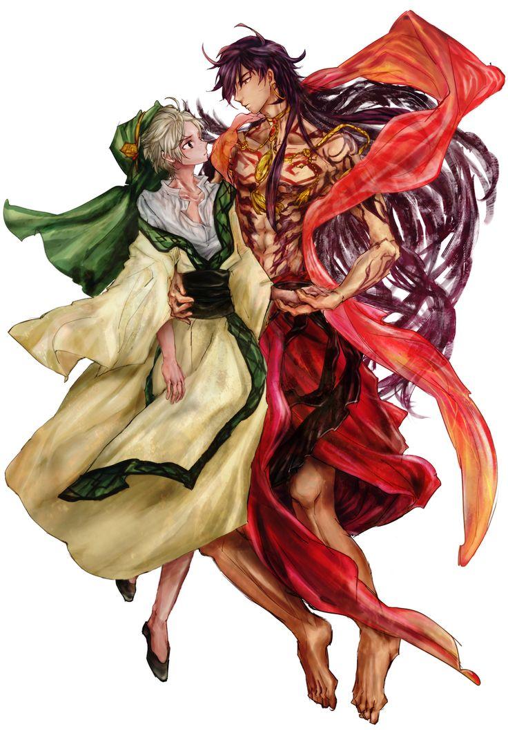 Sinbad & Ja'far (Sinja) - Magi