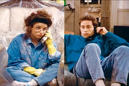 how did elaine and jerry meet