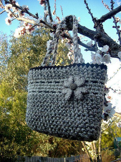 nice #crochet bag