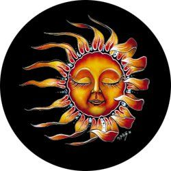 Sleeping Sun Spare Tire Cover for Jeep Wranglers