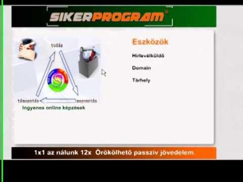 SikerProgram online bemutató 2014. 01.07