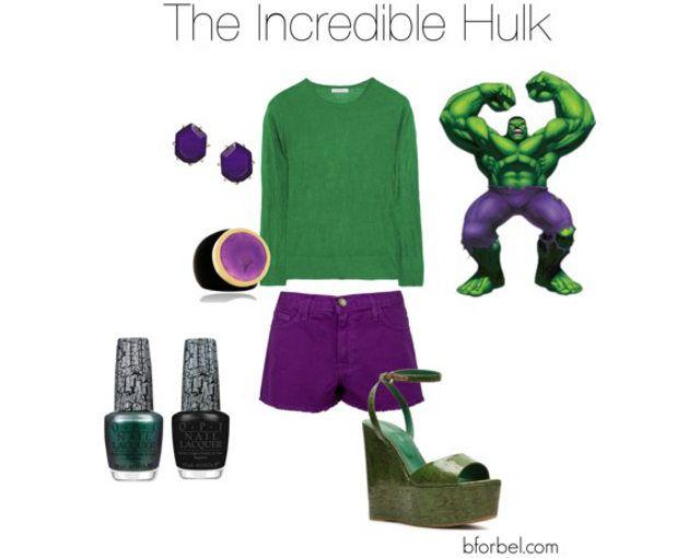 Superhero Fashion Collections-The Incredible Hulk