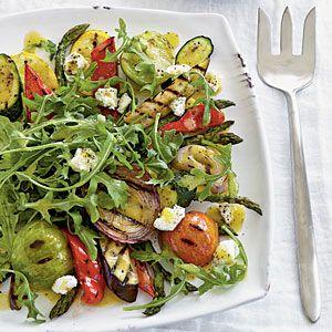 Grilled Vegetable SaladGrilled Veggies, Grilled Vegetable Salads, Coastalliving Com, Salad Recipe, Summer Salad, Coastal Living, Simple Recipe, Veggies Salad, Grilled Vegetables Salad