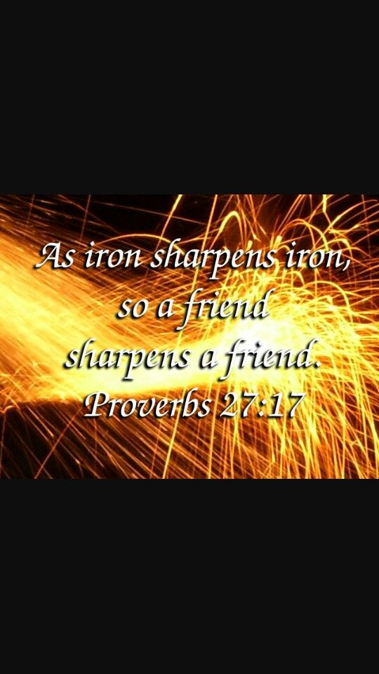 Sharpen one another