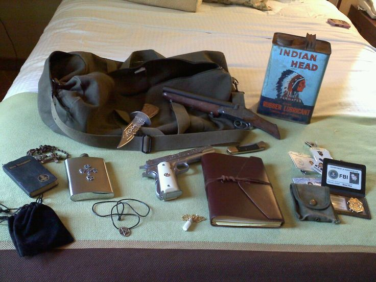supernatural props.....I want it!!