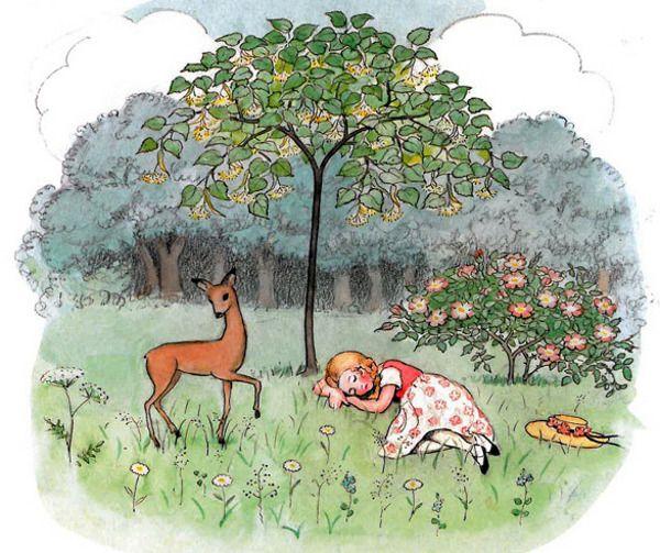 "Elsa Beskow's ""Rosalind and the Little Deer"""