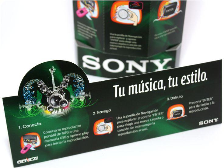 Juan Casas - SONY - Material promocional