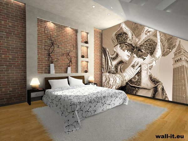 Fototapeta do sypialni MASKI http://www.wall-it.eu/product/photowallpapers/1kolor/fototapeta%20do%20sypialni%20maski%20weneckie%20czarno%20bialy%20z%20czerwonym%20akcentem.jpg  #fototapeta #fototapety #mural #murals #bedroom #room #sypialnia #aranzacja #maski #mask #wenecja #venezia