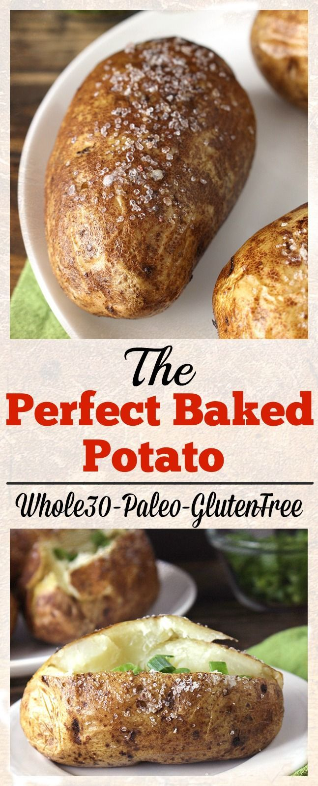 The perfect baked potato recipe perfect baked potato and baked the perfect baked potato recipe perfect baked potato and baked potatoes ccuart Choice Image