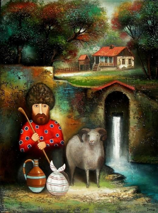 Por Amor al Arte: David Martiashvili de la Academia de Arte de Tbilisi.