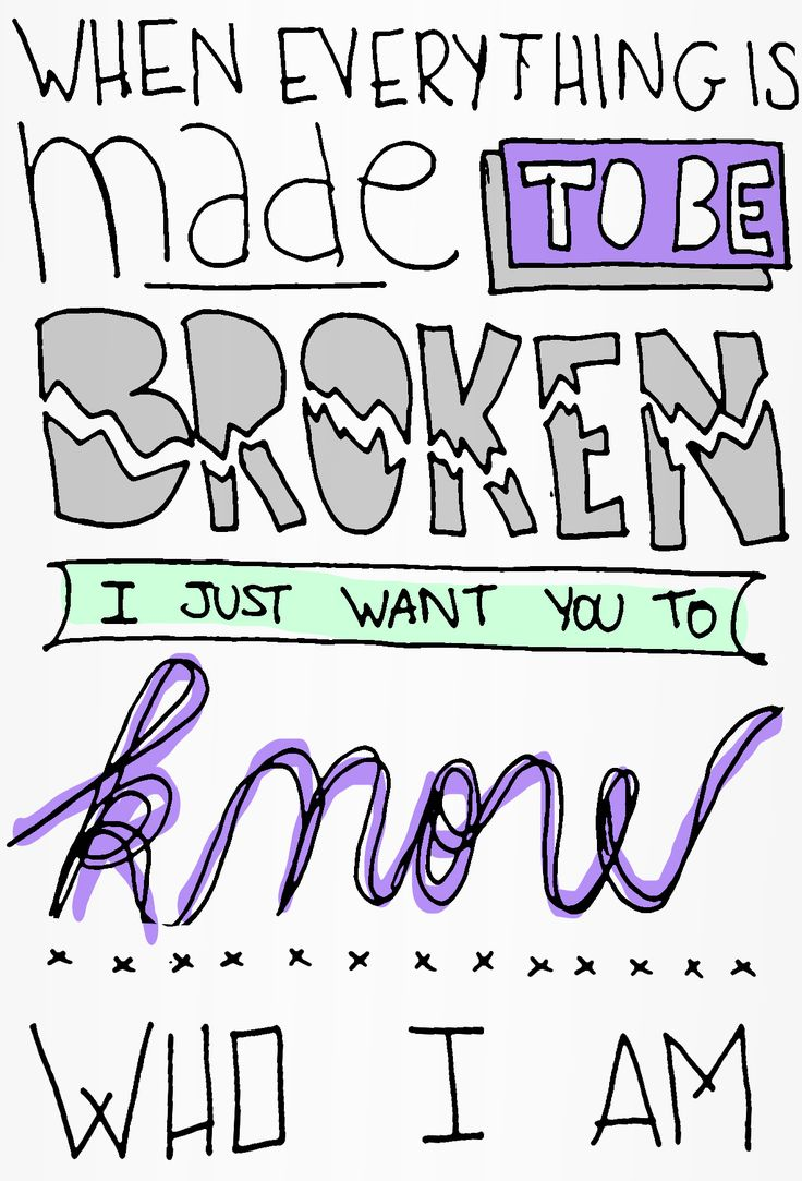 Popular Song Lyric Drawings | ... iris goo goo dolls request lyric song music lyrics love broken city of