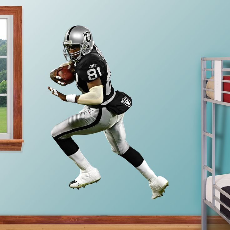 tim brown real big fathead wall graphic oakland raiders on wall decals id=47279