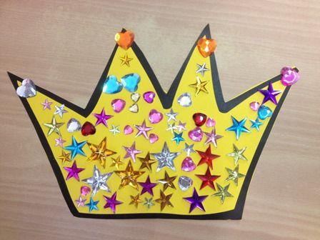 kleuters koningsdag kroon