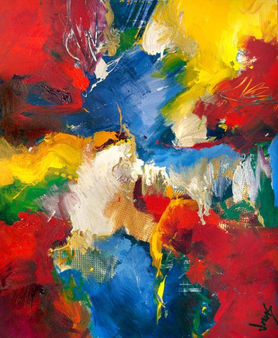 O que e arte abstrata
