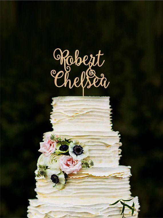193 best WeddingRusticDeco Cake Toppers images on Pinterest | Cake ...