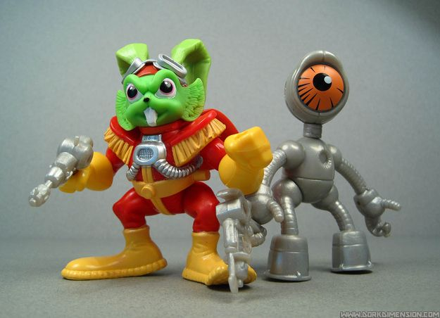 Bucky O'Hare | 30 Toys From The '90s You Might've Forgotten About