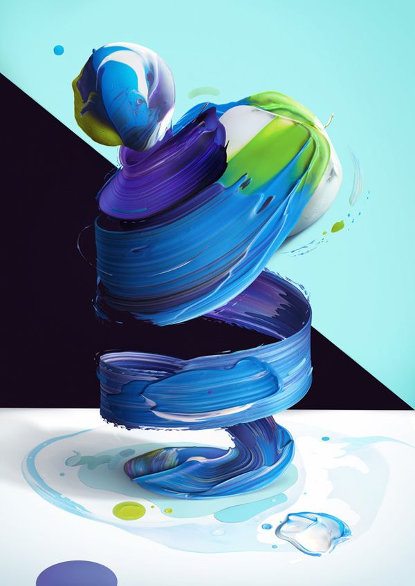 Atypical by Pawel Nolbert, via Behance #typography #abstract #digital #art