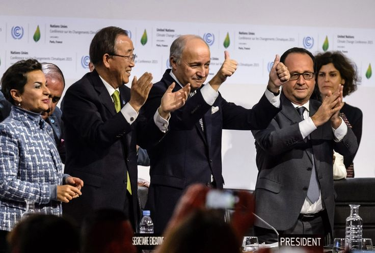 Highlights from the final draft text of a climate agreement submitted to the delegates in Paris.