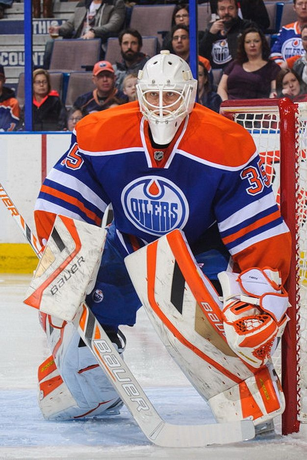 "Viktor Fasth of the Edmonton Oilers. He is 6' 0"", 186 lbs and was born Aug 8, 1982 in Kalix, Sweden Age 32 He'll be a free agent after the season, coming off a disappointing and injury-marred campaign."