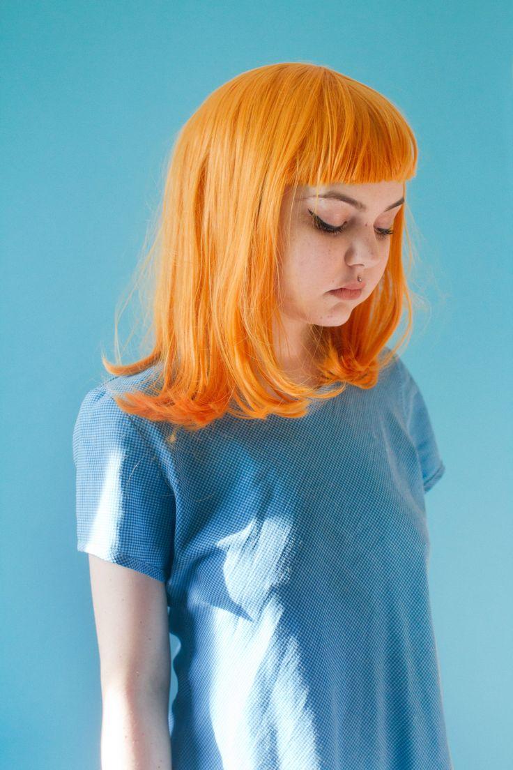 25 Best Ideas About Pastel Orange Hair On Pinterest  Hippie Hair Short Col