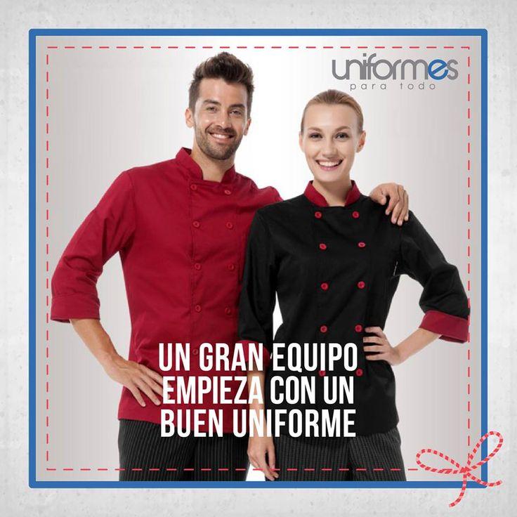 ¡Queremos que tu uniforme te haga resaltar y marcar la diferencia! #UniformesParaTodo #Cocina #Chef #Personalizar #Marca