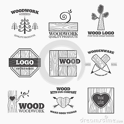 wood-products-logo-vector-woodworking-badges-logos-labels-interesting-design-template-your-company-53789232.jpg (400×400)