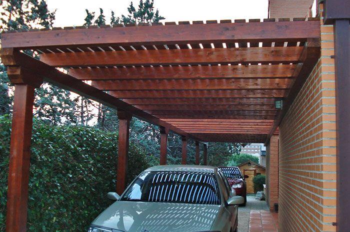 Pin De Lili En Garage Pergolas De Madera Madera Para Exterior Techo De Patio
