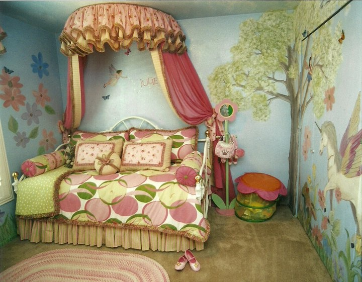 65 best fairy theme images on pinterest child room for Fairy princess bedroom ideas