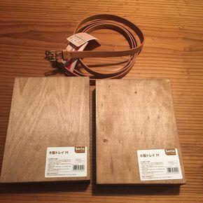 オール100均材料でトランク型収納BOX。