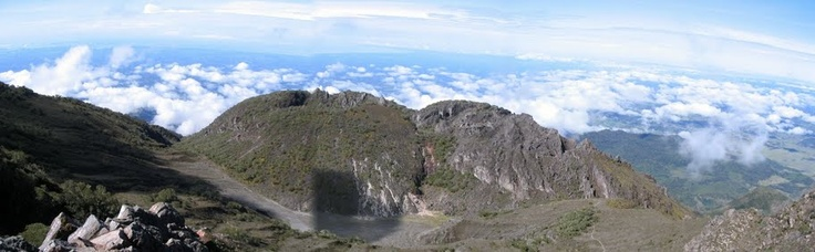 Volcan Baru - The only place where you can see two oceans!