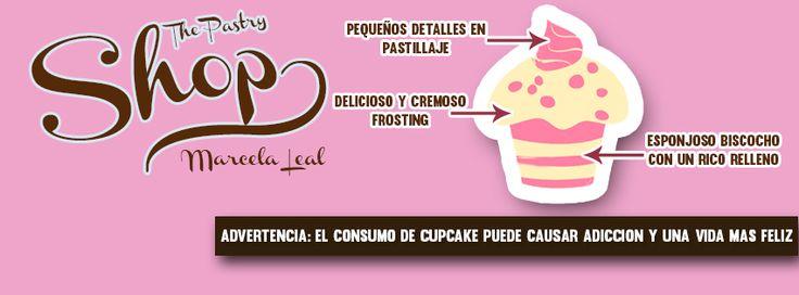 Portada para facebook, The pastry shop marcela leal