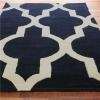 Oversized Moroccan Tile Hand Tufted Rug - Shades of Light