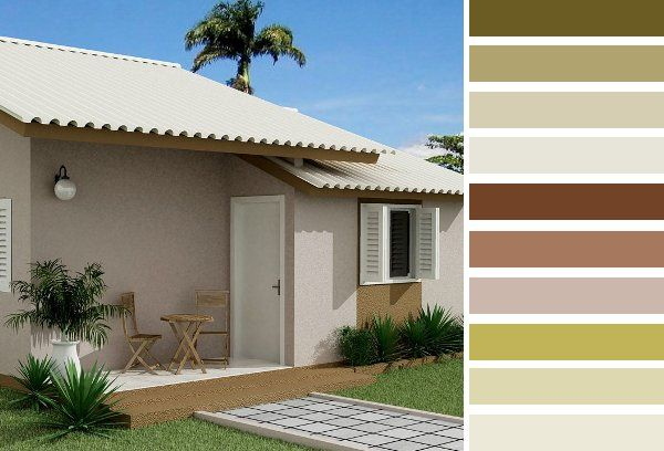 Colores para frentes de casas saber y hacer color y - Fotos de la casa blanca por fuera ...