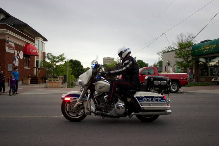 One of Ottawa's finest helping keep everybody safe during the weekend - support from volunteers, paramedics, security, and police was amazing - very proud of the job done by all at 2013 Tamarack Ottawa Race Weekend!