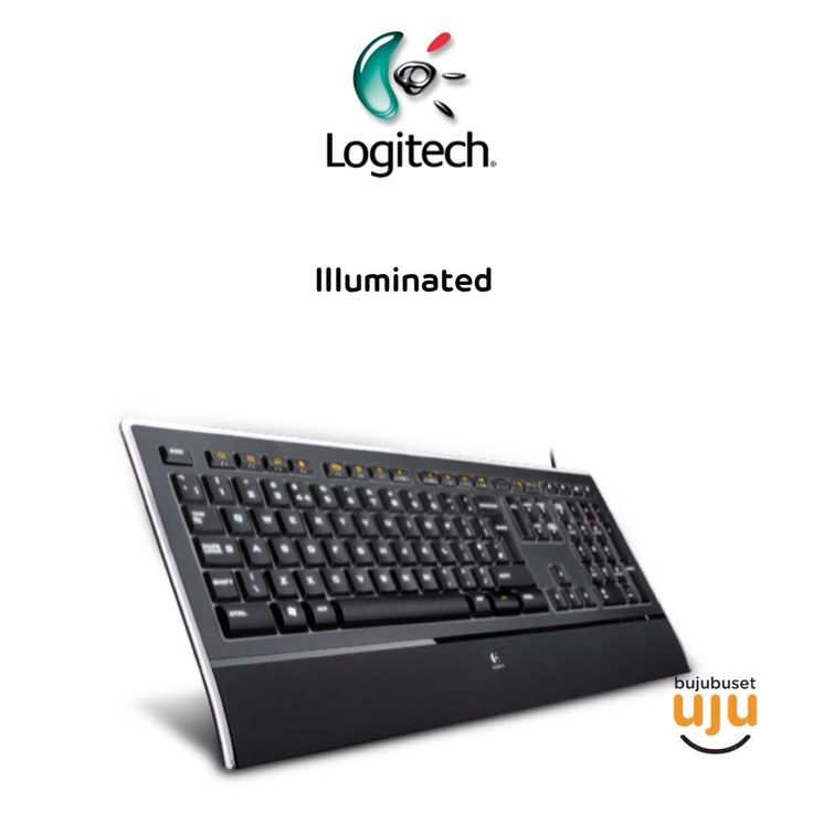 Logitech Illuminated Keyboard  IDR 670.000