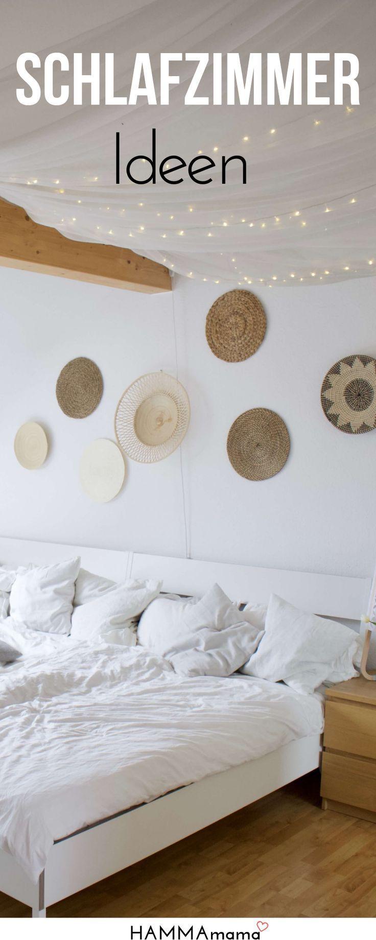 Zeit für Boho & Ethno! ° Ideen für das Schlafzimmer und die Wandgestaltung (mit Dachschrägen und …