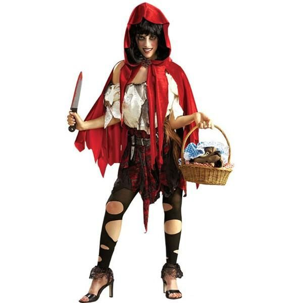 Adult Little Dead Riding Hood Costume | Costumeish – Cheap Adult Halloween Costumes – Fast Shipping