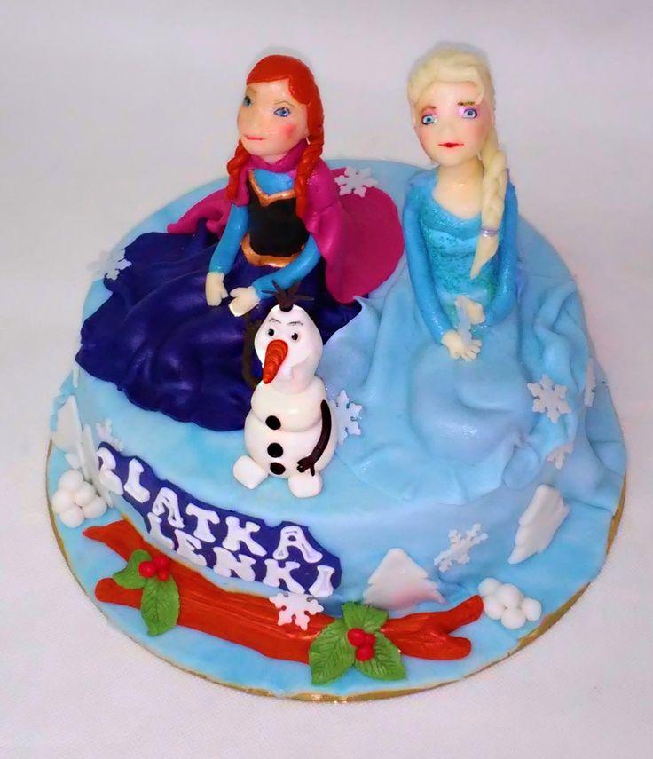 Anna, Elsa i Olaf z Krainy Lodu