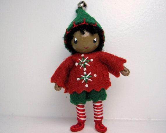 226 Best Images About Christmas Dolls On Pinterest