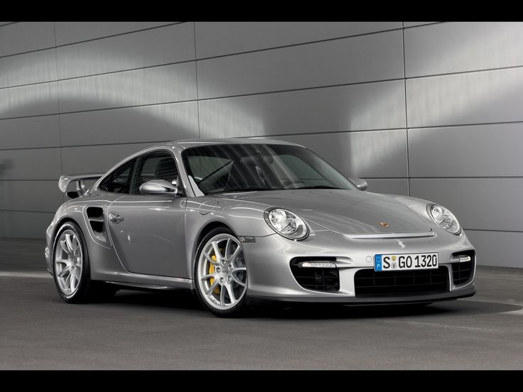2008 Porsche 911 GT2 (997) 530 bhp. 0-60 mph in 3.6 seconds