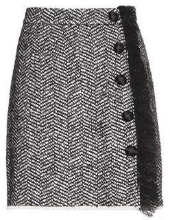 Dolce & Gabbana Boucle Wool Blend Skirt - $895