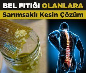 Bel fıtığı ağrılarına bitkisel çözüm..!