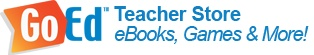 GoEd Online is more than just a blog—it's a one-stop shop for teaching materials! There are over 3,000 downloadable eBooks and games for elementary teachers, including resources for early childhood, English (ELA), math, science and social studies.  Great materials!!