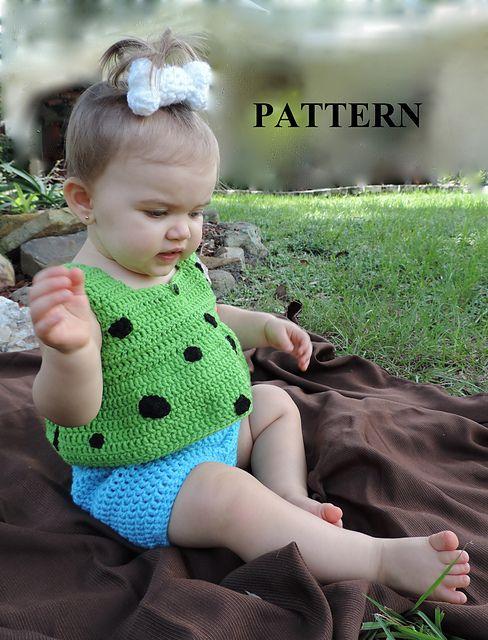 Ravelry: Pebbles Halloween Costume pattern by Lulu Bebeblu