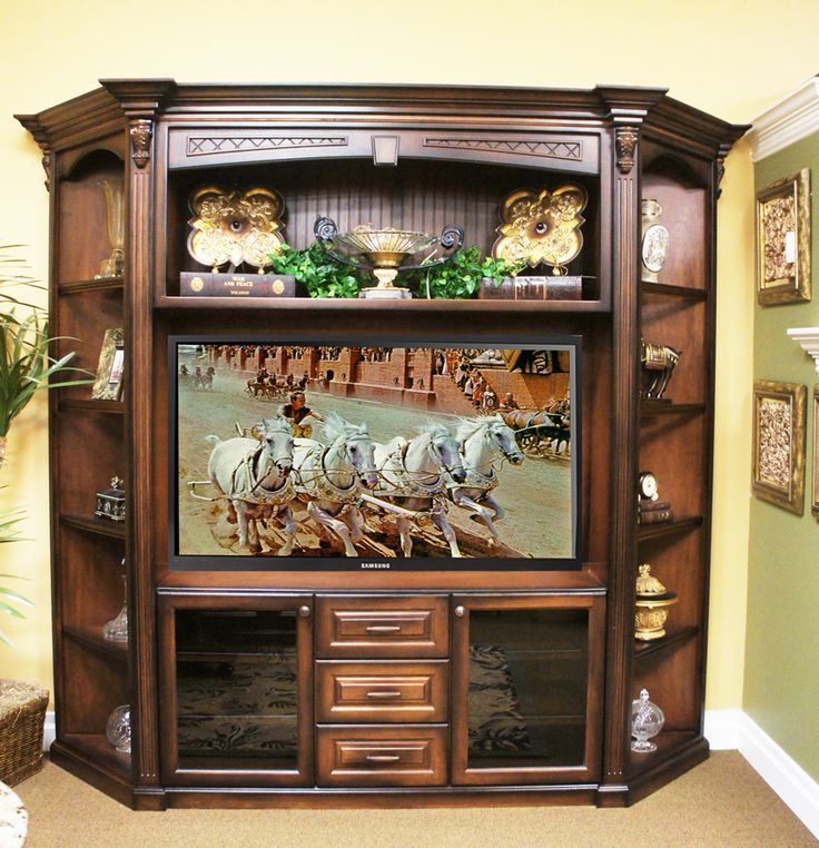1000 images about home entertainment centers get your for Elegant wall units