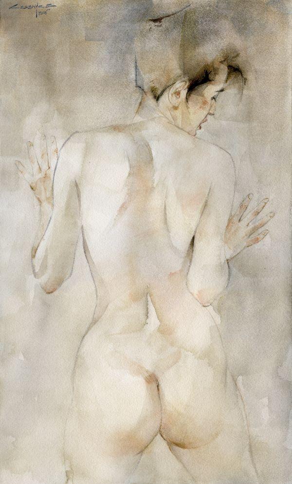 Dona d'esquenes